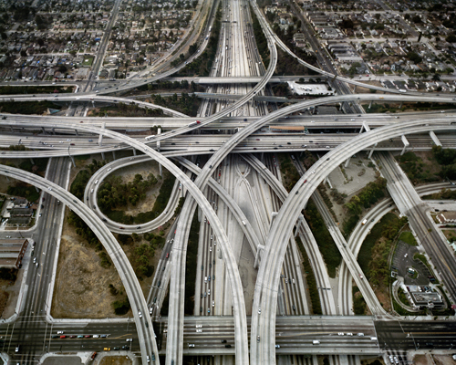 Highway-1-Intersection-105-110-Los-Angel