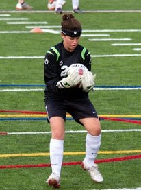 My first game back following my long injury at Alfred University.