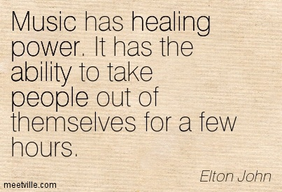 music therapy the power of healing Reader's corner: the healing powers of music therapy thechronicleheraldca it took over two months, but i finally listened to the cd my sister paula made for me.