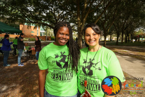 Stacy & I at USF's International Festival.