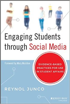 Engaging Students through Social Media book cover