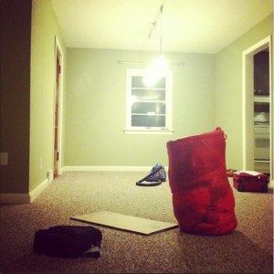 Moving always feels so strange to me, especially when the house is almost empty.