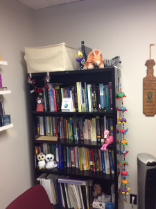 I cleaned out and decorated my office.