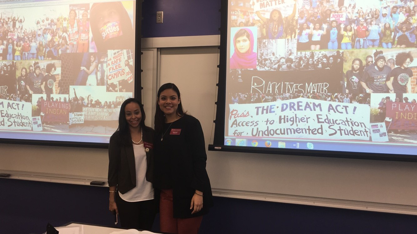Presentation during the National Latino Collegiate Conference, University at Albany