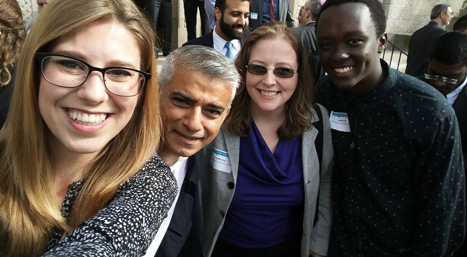 Selfie Time! The Honorable Mayor of London, Sadiq Khan